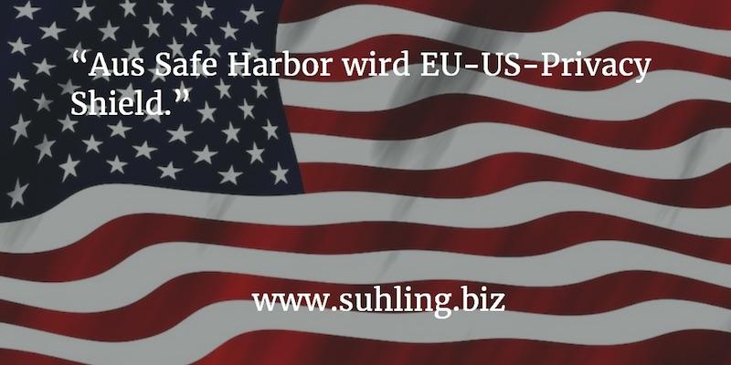 US-EU Privacy Shield