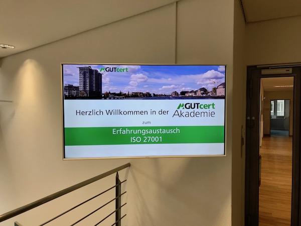 ISO 27001-Erfahrungsaustausch in Berlin bei GUTcert