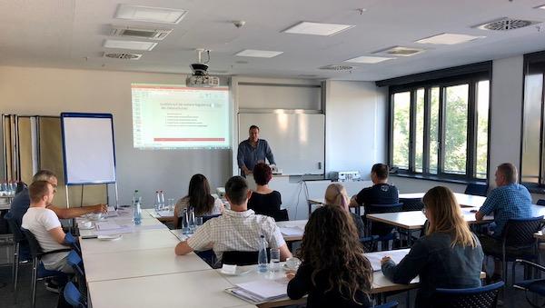 Ausbildung zum Datenschutzbeauftragten mit Dozent Peter Suhling abgeschlossen – Heilbronn