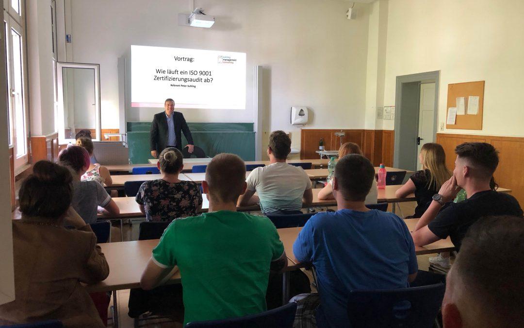 Vortrag – Wie läuft eine ISO 9001 Zertifizierungsaudit ab? – Karlsruhe