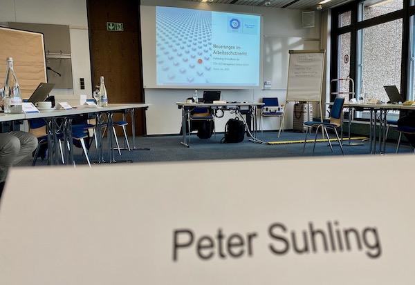 Seminar Arbeitsschutz-Weiterbildung – Neuerungen im Arbeitsschutz – TÜV SÜD – Mannheim