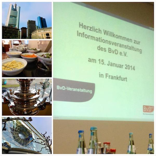 Informationsveranstaltung des BvD, Vorstellung des BvD-GDD-Datenschutzstandards in Frankfurt