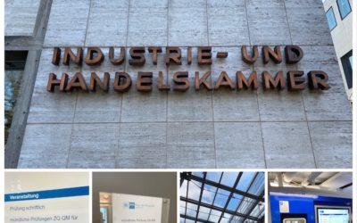 Mündliche Prüfung zur Zusatzqualifikation Qualitätsmanagement für Kaufleute bei der IHK in Karlsruhe