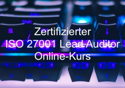 Zertifizierter ISO 27001 Lead Auditor – Online-Kurs