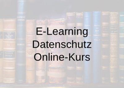 E-Learning Datenschutz Online-Kurs
