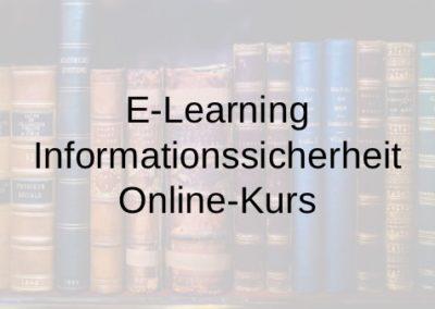 E-Learning Informationssicherheit Online-Kurs