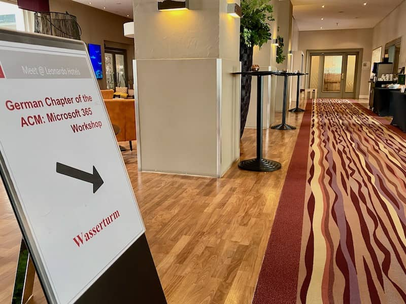 Der Workshop 365 trifft sich in Mannheim mit Aufsichtsbehörde