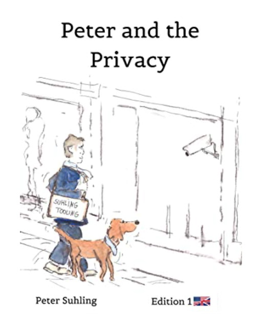 Peter an the privacy, book by Peter Suhling, Language: English