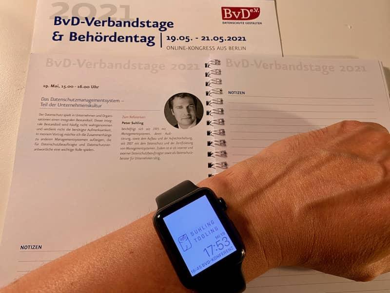 BvD-Verbandstage & Behördentag 2021 – Vortrag Speaker Peter Suhling